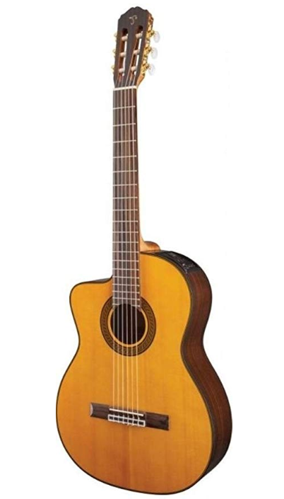 Takamine Lefty Gc5Celh-Nat Acoustic Electric Classical Cutaway Guitar