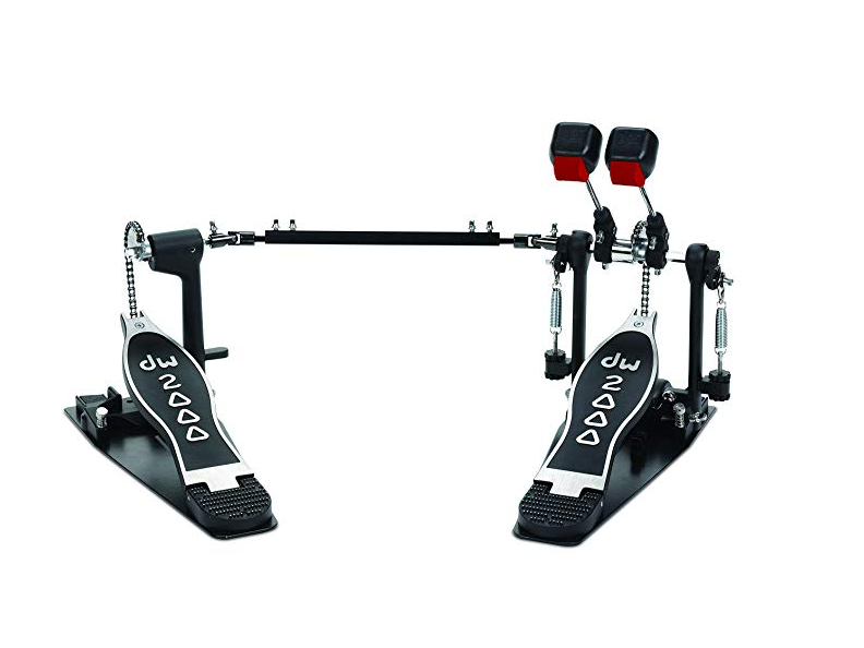 Dw Drum Workshop DWCP2002 Double Bass Drum Pedal - Red One Music