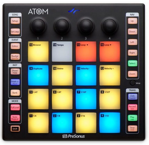 Presonus ATOM Pad Controller - Red One Music