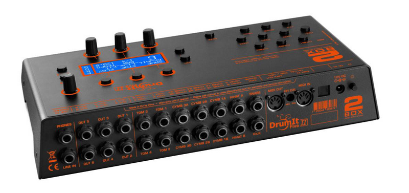2BOX DRUMIT Five MKII Module - Red One Music