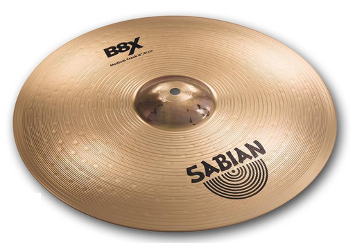 "Sabian 41402X 14"" B8X Hi-Hats Crash Cymbal - Red One Music"