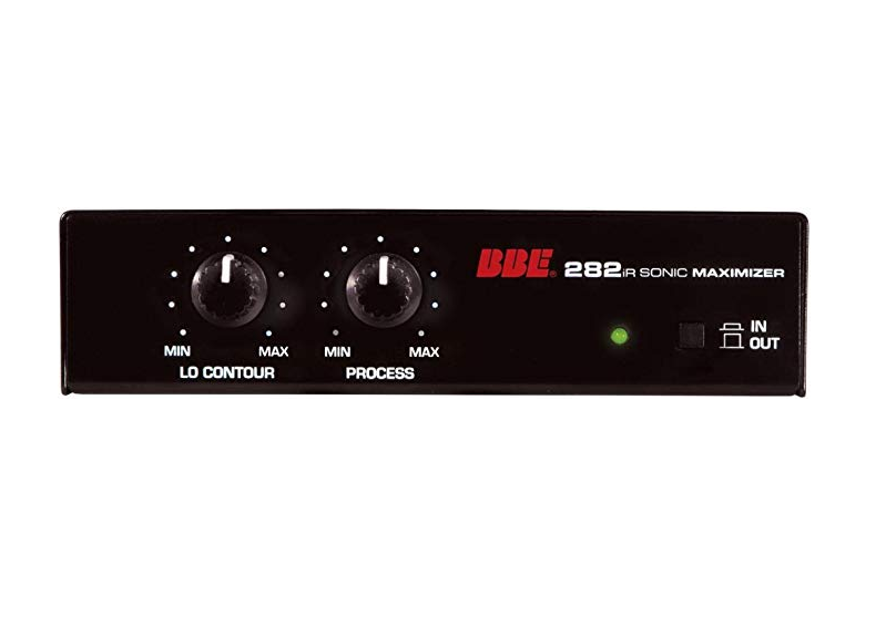 BBE 282Ir Desktop Sonic Maximizer - Red One Music