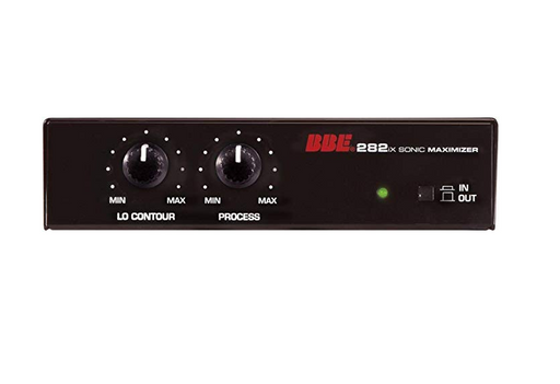 BBE 282Ix Desktop Sonic Maximizer - Red One Music