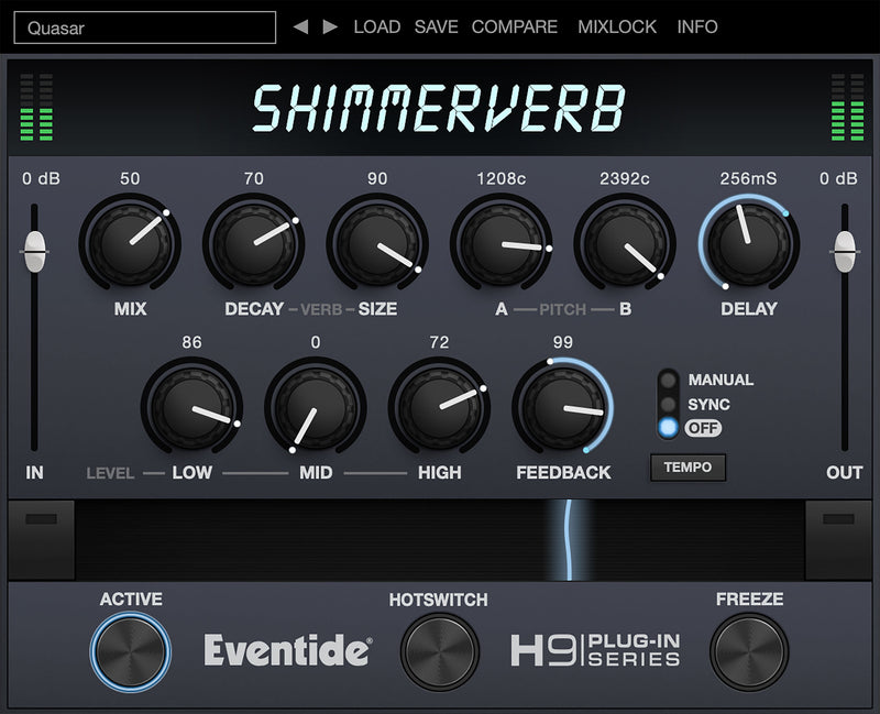Eventide ShimmerVerb Lustrous Reverb Plug-in (Download)