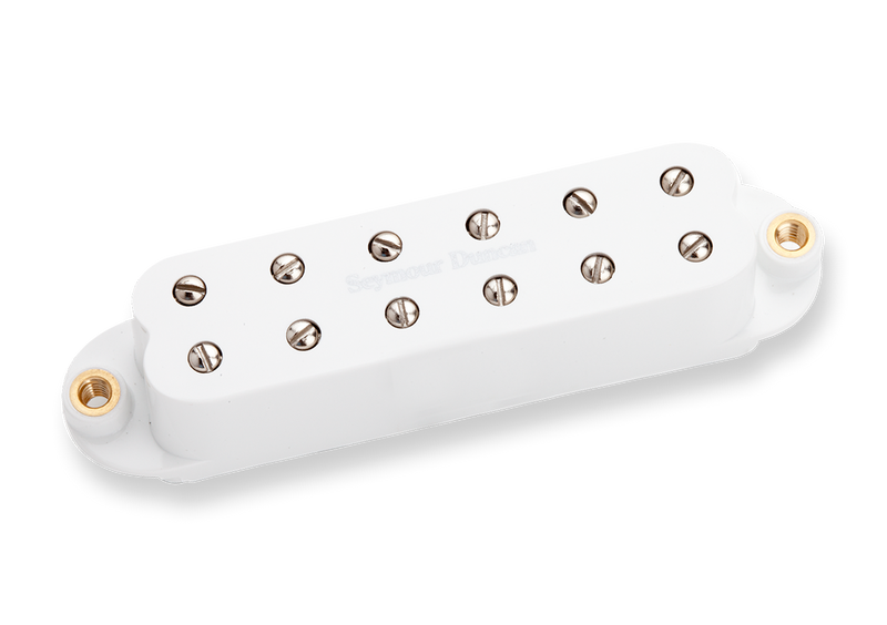 Seymour Duncan 11205-40-W Billy Gibbons Red Devil Neck White