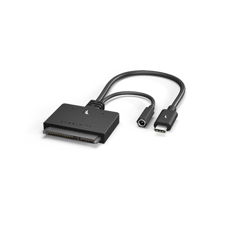 Angelbird USB 3.2 Gen 2 Type-C to SATA 6 Gb/s Adapter