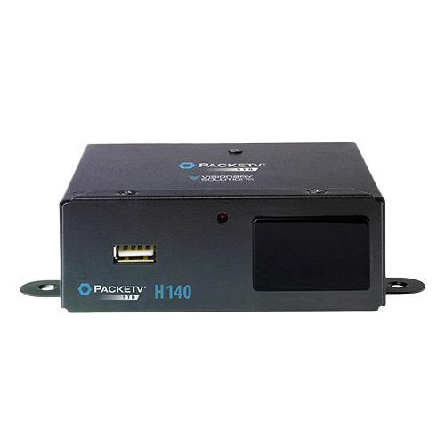 Visionary Solutions PackeTV STB H140 HD IPTV Mountable (STB) Decoder