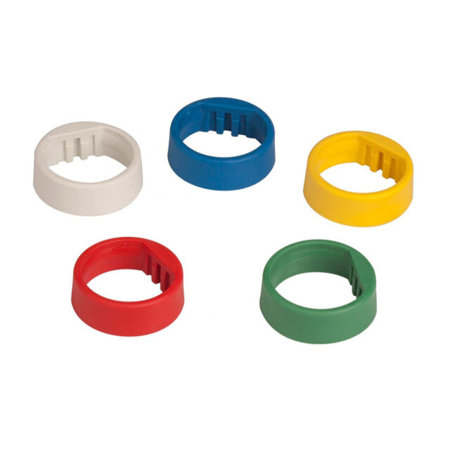 Shure WA616M 5-Color Identification Rings For ULXD QLXD Wireless Mics