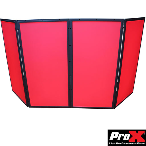 ProX XF-GLOPRO 4X FC LED Facade Package - 4 Panel - Red One Music