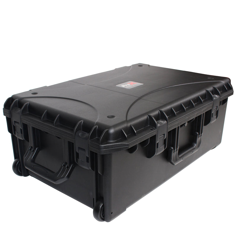 ProX VAULTX XM-1101HW Large Watertight Case W-Extendable Handle, Wheels and Pluck-N-Pak Foam