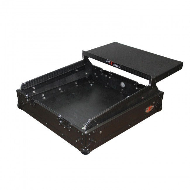 ProX XS-19MIXLTBL 10U Top Mount 19 Slanted Mixer Case - Red One Music
