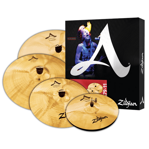 Zildjian A20579-11 A Custom Cymbal Set - Red One Music