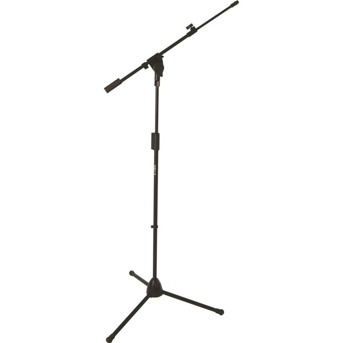 Support de microphone professionnel Quiklok A-514 Bk avec base de trépied robuste en alliage moulé - Red One Music