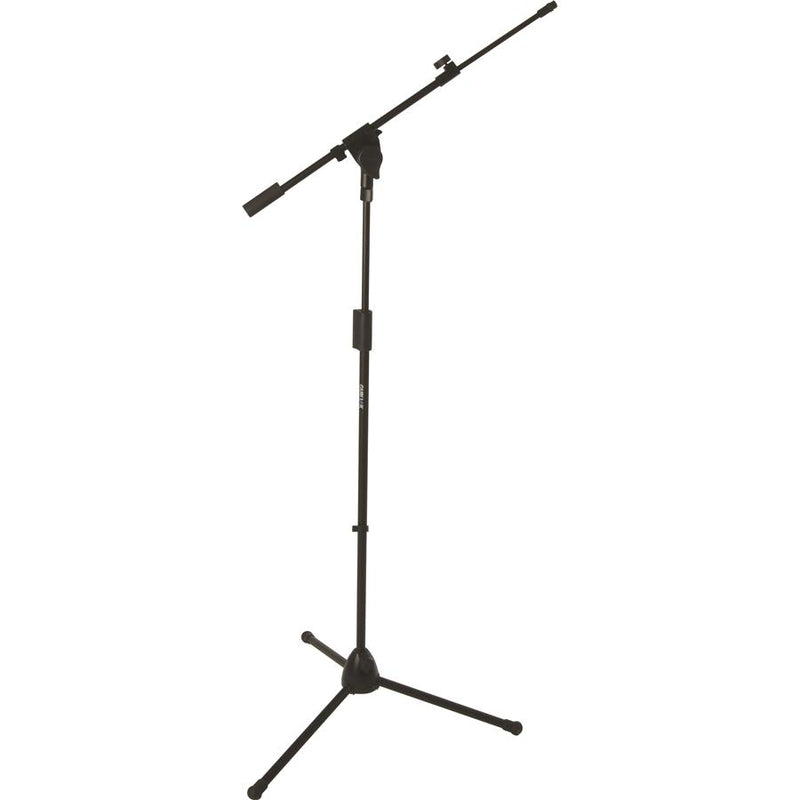 Quiklok A-514 Bk Professional Microphone Stand Featuring Heavy-Duty Cast-Alloy Tripod Base - Red One Music