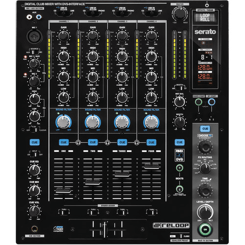 Reloop RMX-90 DVS High Performance Club Mixer For Serato Dj - Red One Music