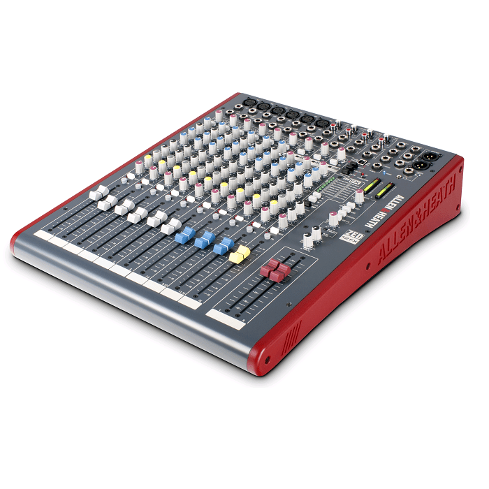Allen  Heath Zed-12FX Multipurpose Mixer With FX For Live Sound And Recording - Red One Music