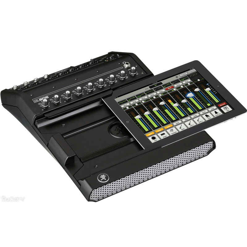 Mackie DL806 8-Channel Digital Live Sound Mixer With Ipad Control - Red One Music