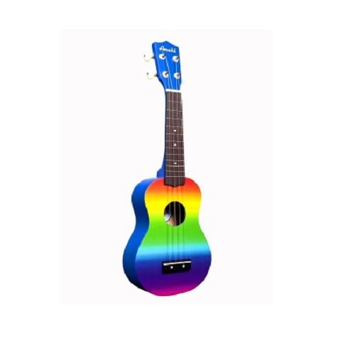 Amahi Dduk1 Tropical Gradient Rainbow Ukulele