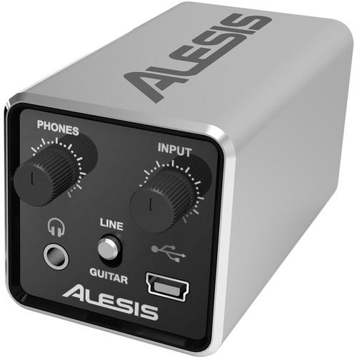 Alesis CORE 1 24-Bit Inline Usb Audio Interface - Red One Music