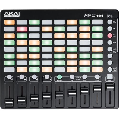Contrôleur Akai Apc Mini Compact Ableton Live - Red One Music