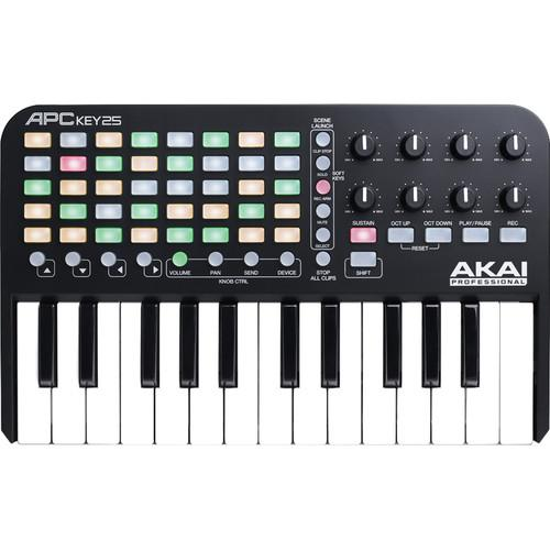 Akai Apc Key 25 Ableton Live Controller With Keyboard - Red One Music