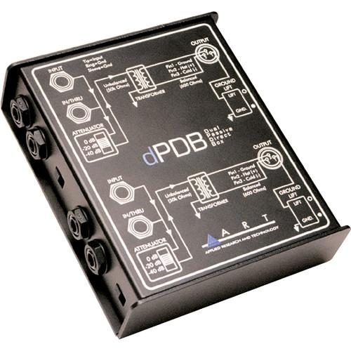 Art Dpdb  Dual Channel Passive Direct Injection Box