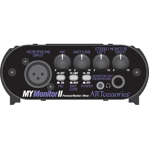 Art Mymonitorii Personal Monitoring Solution - Micline Mixer - Red One Music