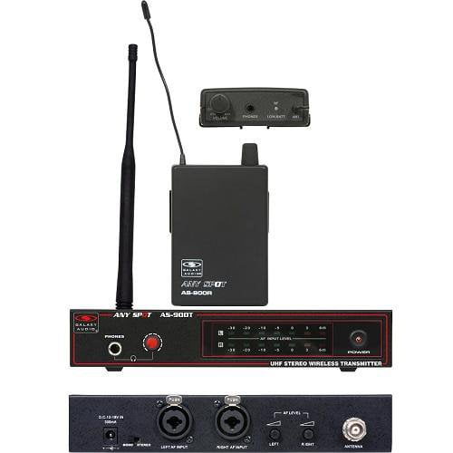 Galaxy Audio AS-900N4  Wireless Personal System K7 - Red One Music