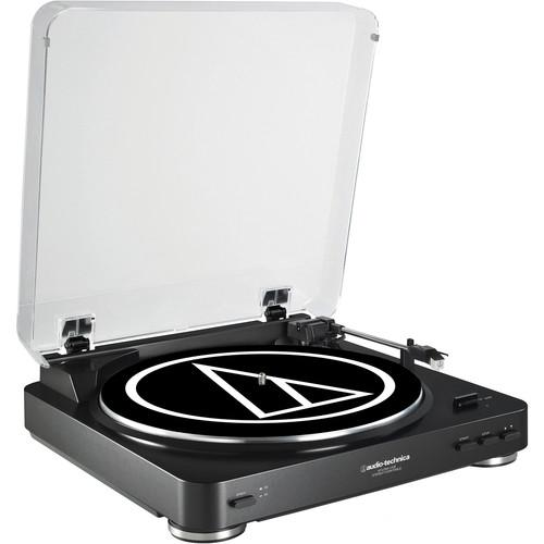 AUDIO TECHNICA AT-LP60 USB BLACK