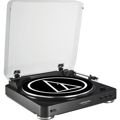 AUDIO TECHNICA AT-LP60 BLACK