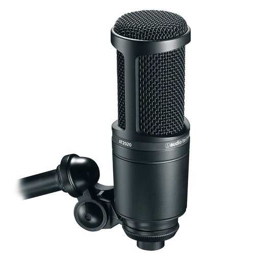 Microphone de studio à condensateur cardioïde Audio Technica At2020