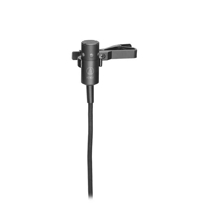 Audio Technica At831B Cardioid Condenser Lavalier Microphone