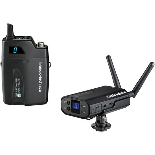 Audio-Technica Atw-1701 System 10 Camera-Mount Digital Wireless Microphone System Microphone Not Included