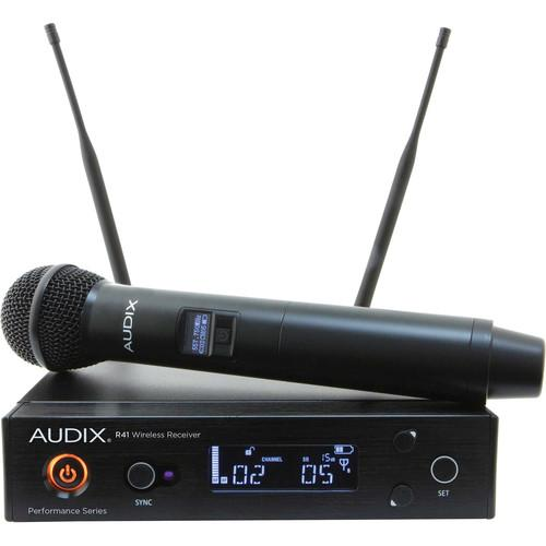 Audix Ap41 Om5-A Handheld Tansmitter Wireless System - Red One Music