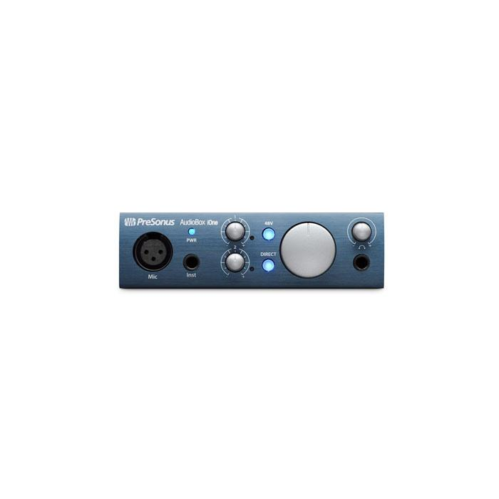 PreSonus AUDIOBOX IONE 2-In 2-Out Usb Recording Interface - Red One Music