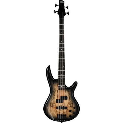 IBANEZ GSR200SM-NGT SPALTED MAPLE TOP NATURAL GRAY BURST