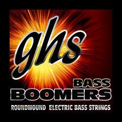 Ghs 4-String Bass Boomers - Medium Light 365 Winding Scale 045-100 - Red One Music
