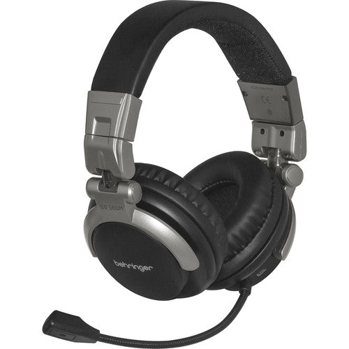 Behringer BB 560M Casque Bluetooth avec microphone à perche flexible