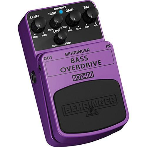 BEHRINGER BOD400 BASS OVERDRIVE EFFECT PEDAL