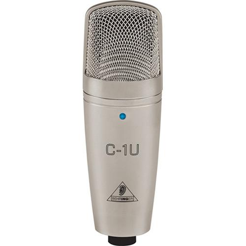 Microphone à condensateur Behringer C1U Usb Studio - Red One Music