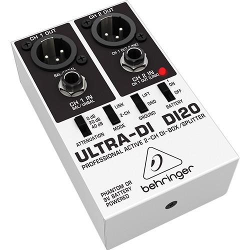 Behringer Di20 2-Channel Direct Box - Red One Music
