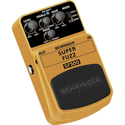 Pédale de Distorsion Super Fuzz Behringer SF300 - Red One Music