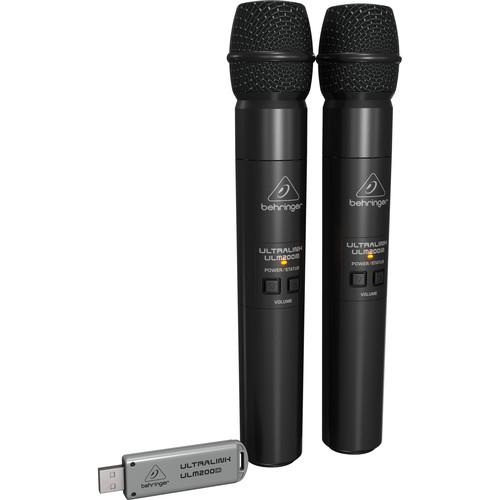 Behringer Ulm202Usb Dual Wireless Microphone System