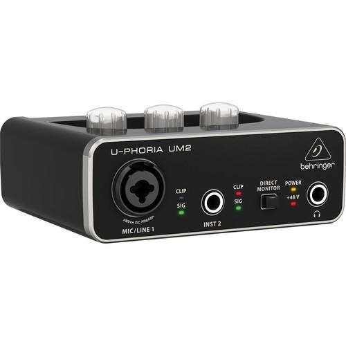 Interface audio Ushr Behringer Um2