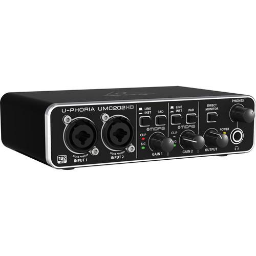 Behringer Umc202Hd Interface audio USB