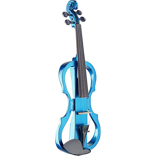 Stagg Evn X-4/4 Mbl Electric Violin Set With Metallic Blue Electric Violin