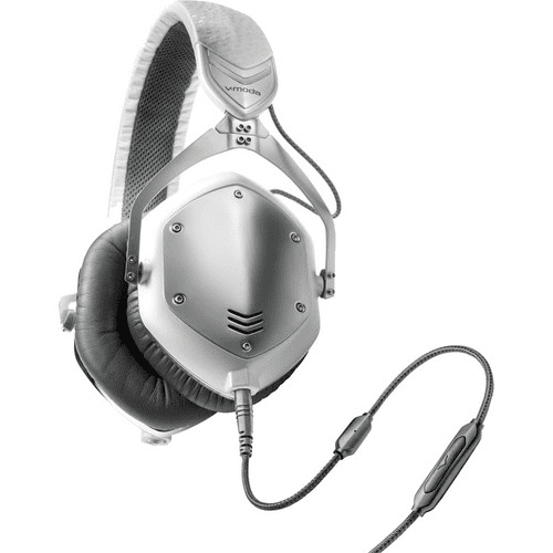 V-Moda Crossfade M-100 Platine sonore 3D immersive, argent blanc - Expériences de performances en direct