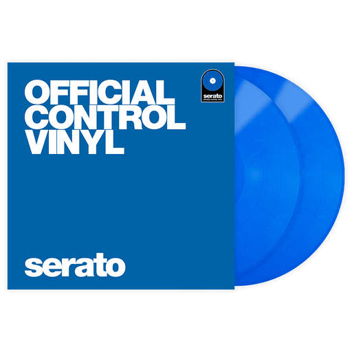 Serato Vinyl Performance Series Pair - Blue 12 'Control Vinyl Pressing - Red One Music