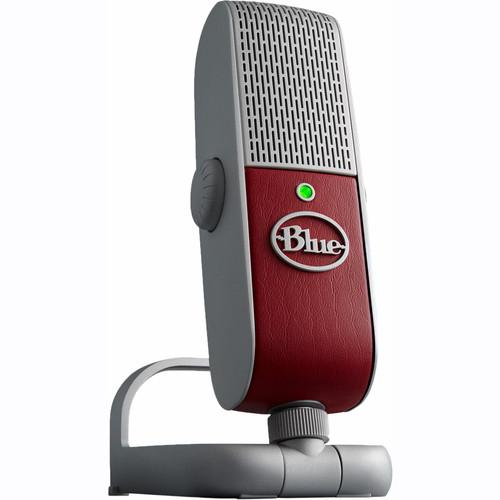 Blue Raspberry St Usb Microphone - Red One Music