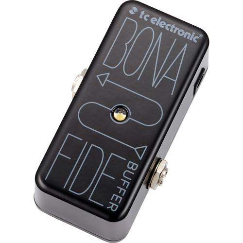 Tc Electronic Bonafide Buffer Analog High Quality Buffer Pedal - Red One Music